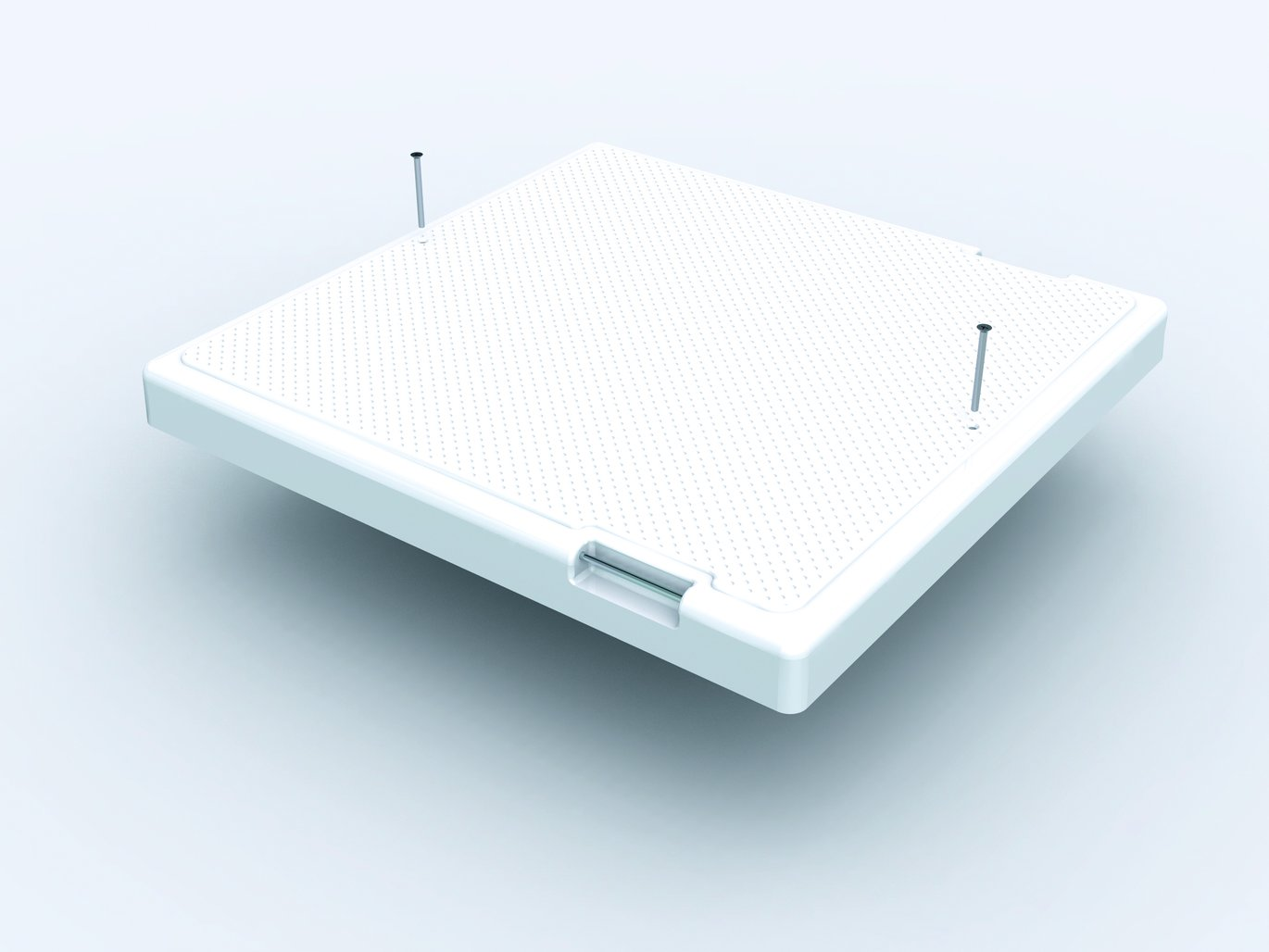 Lid with non-slip coating