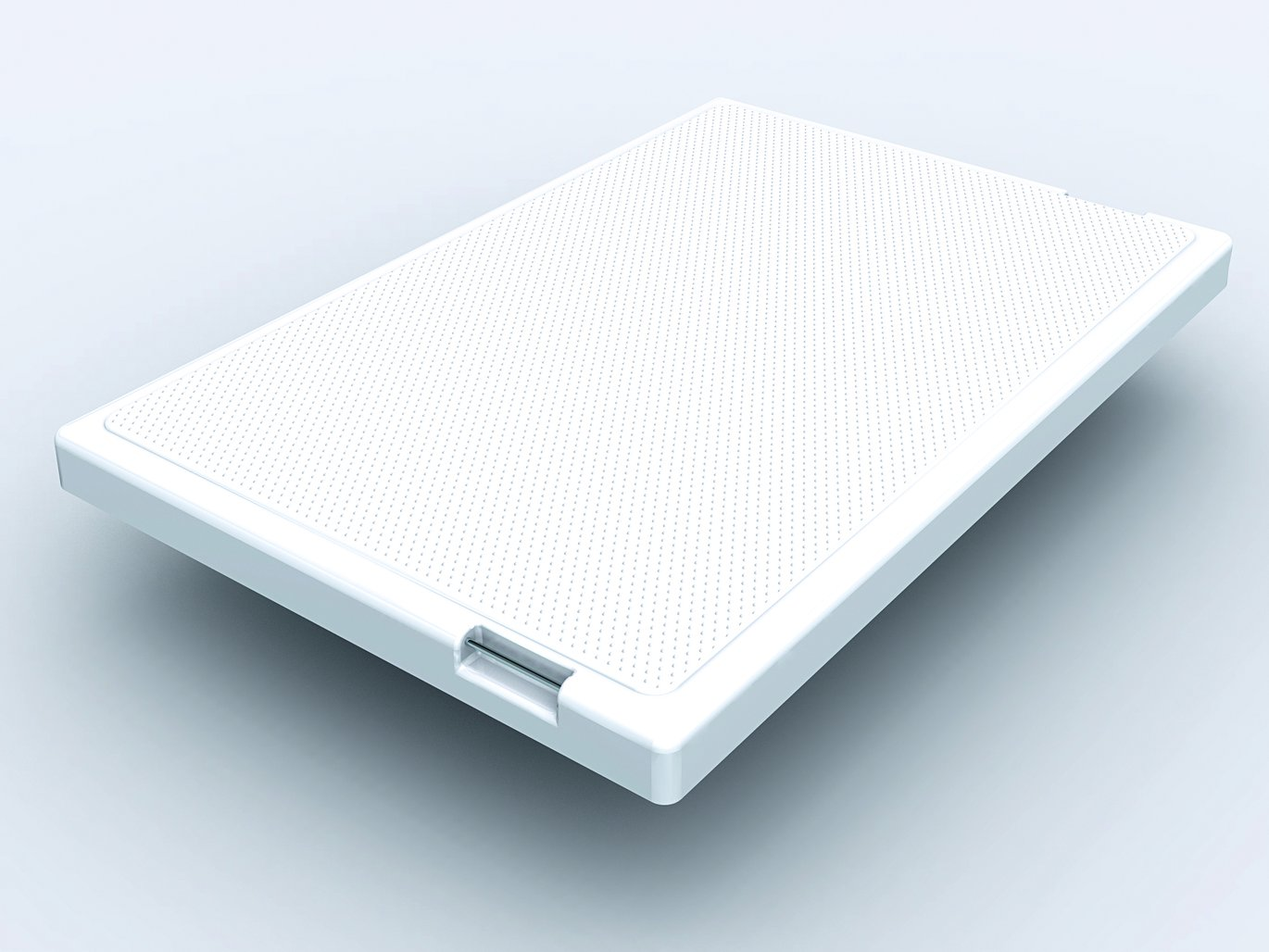 rectangular inspection cover with non-slip coating